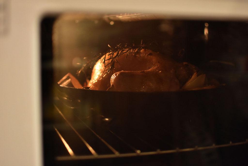 オーブン料理 家中おいしい香り