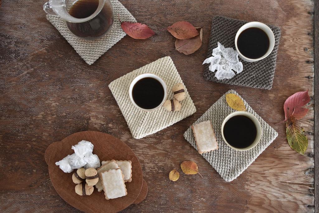 焼き菓子でコーヒータイム
