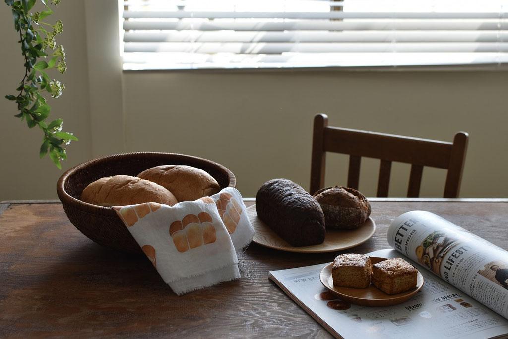 ダンディゾンのパンが届いた