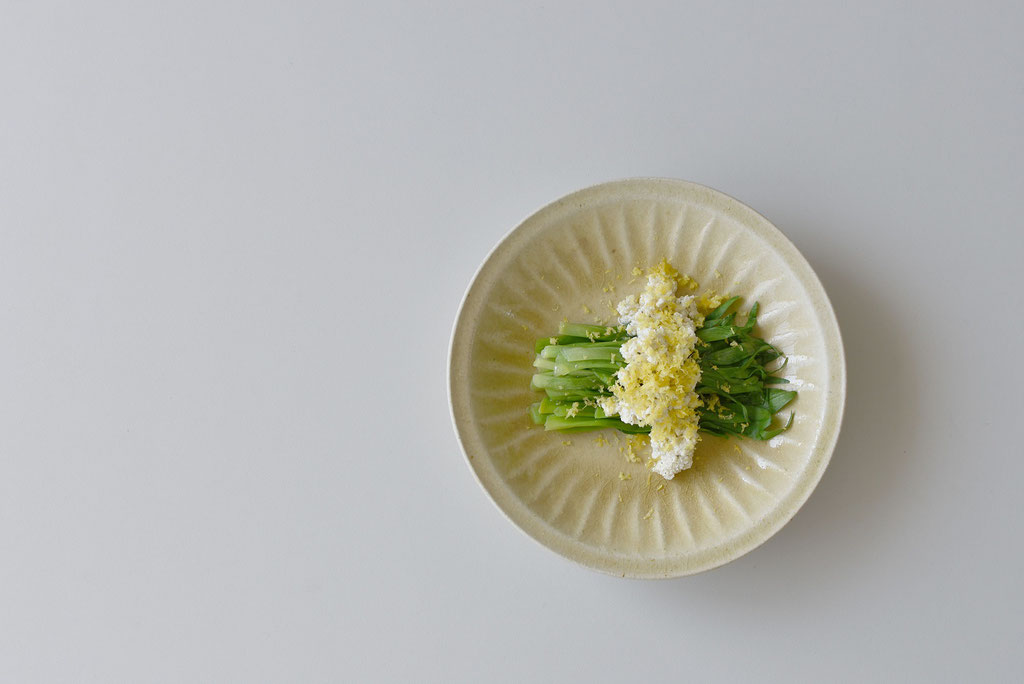 山菜のカンゾウで春色プレート