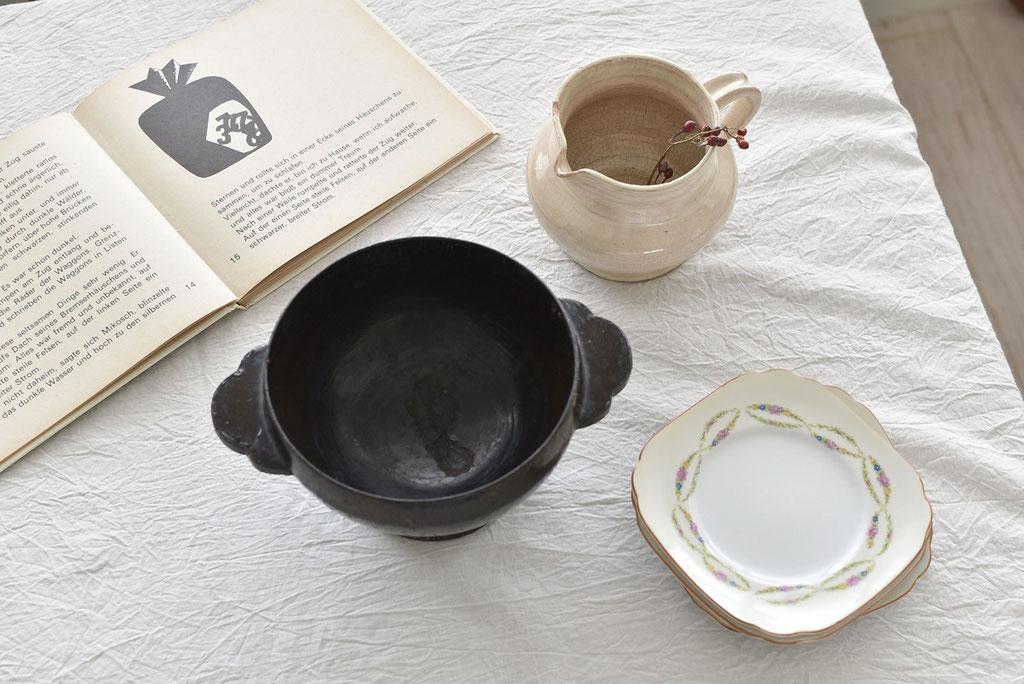 洋の雰囲気にも溶け込む日本の古いもの