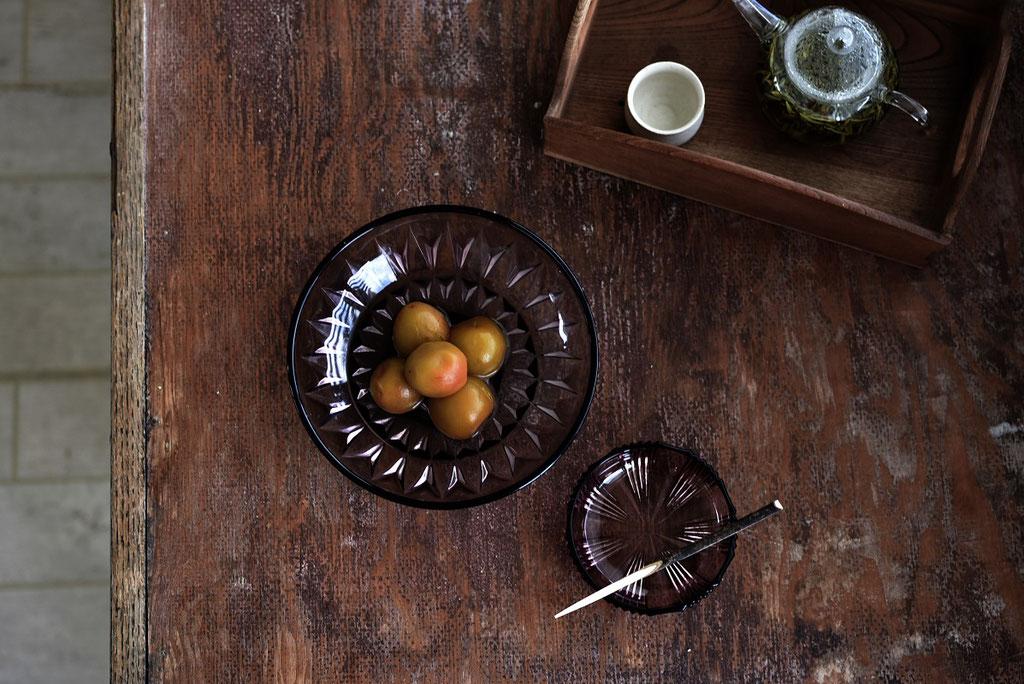 梅の甘露煮で美味しいお茶時間