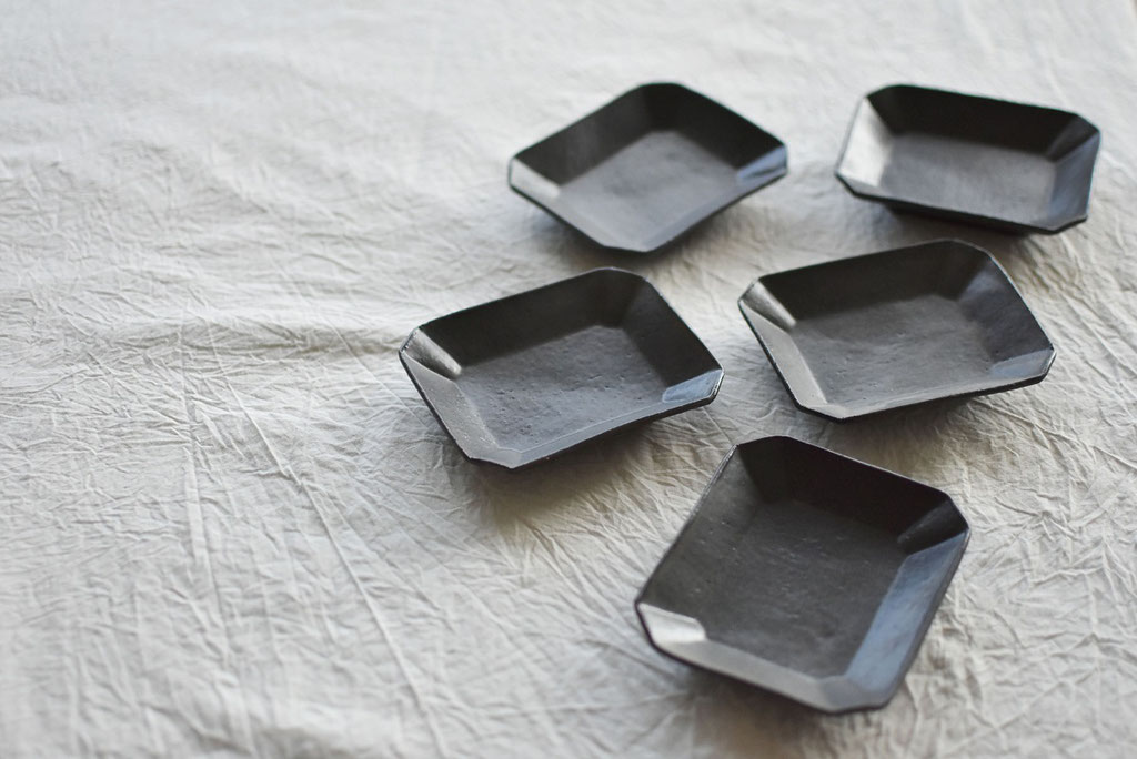 たくまポタリー 長方小皿
