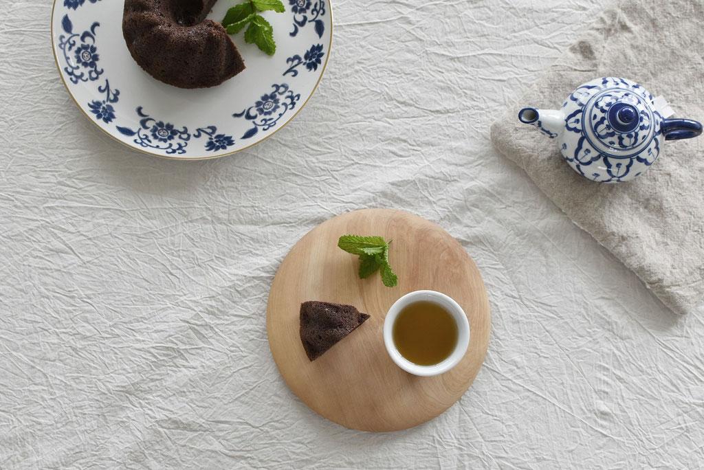 チョコとミントなティータイム