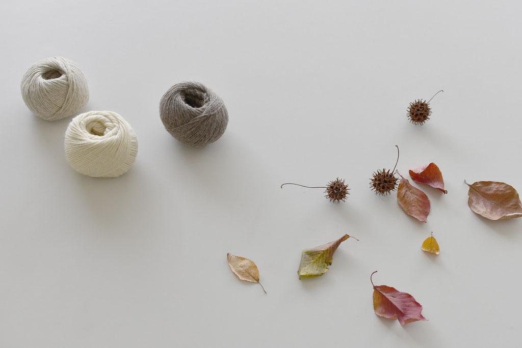 編み物したくなる季節