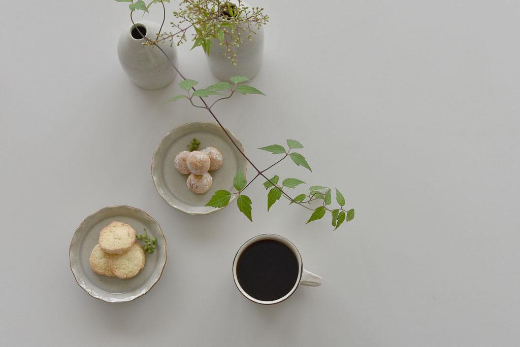 焼き菓子でコーヒー時間