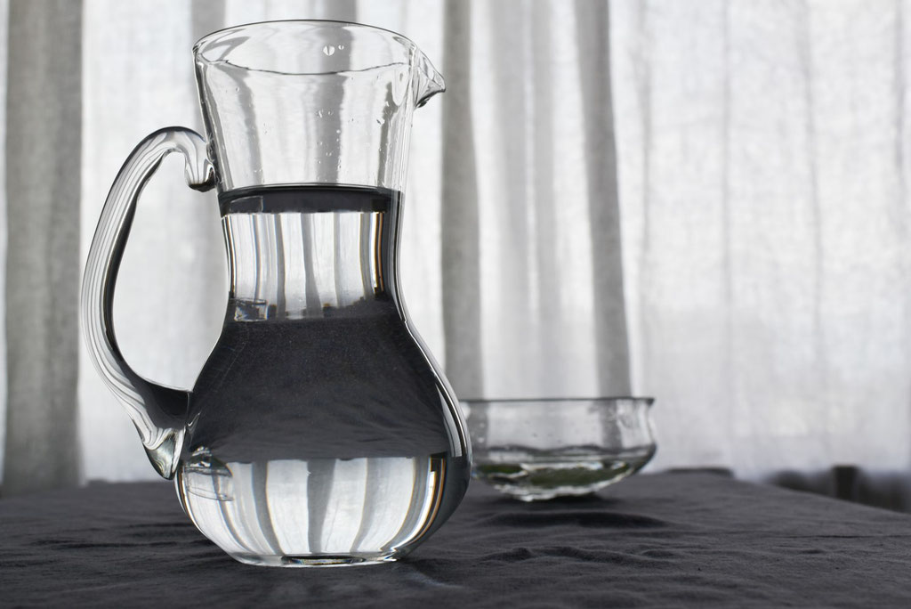 ガラスと水の向こう側