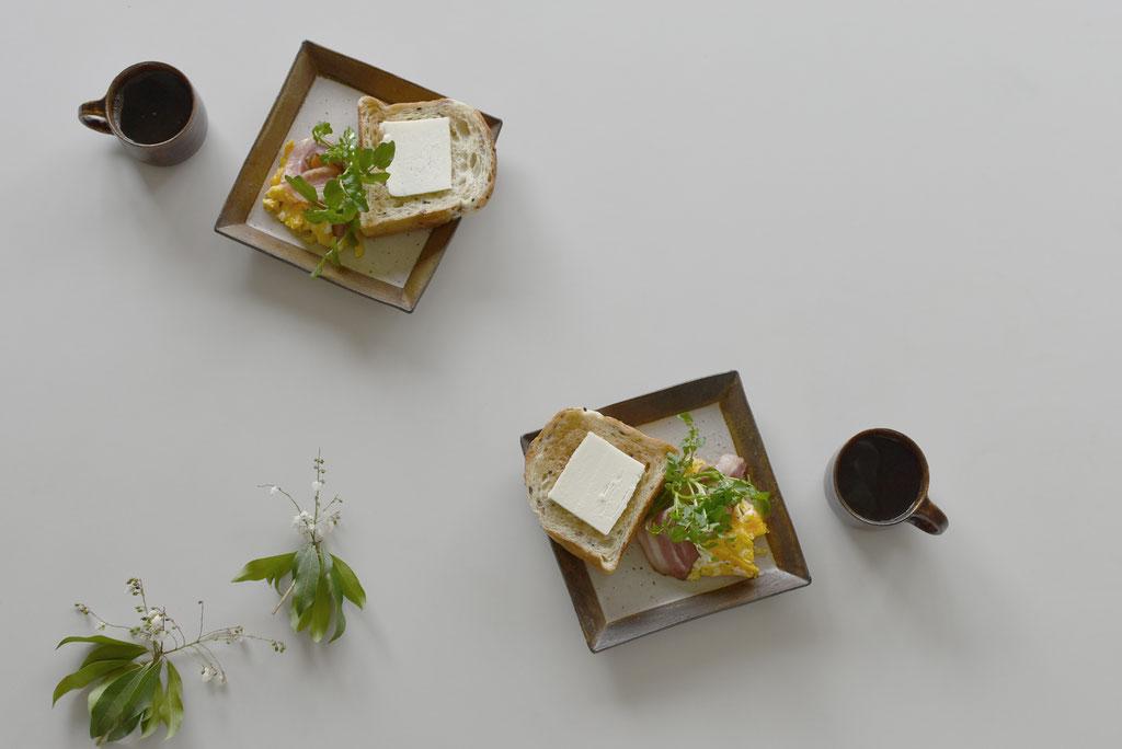 和食器でモーニング