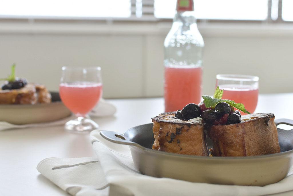 グレープフルーツジュース ピンクがかわいい