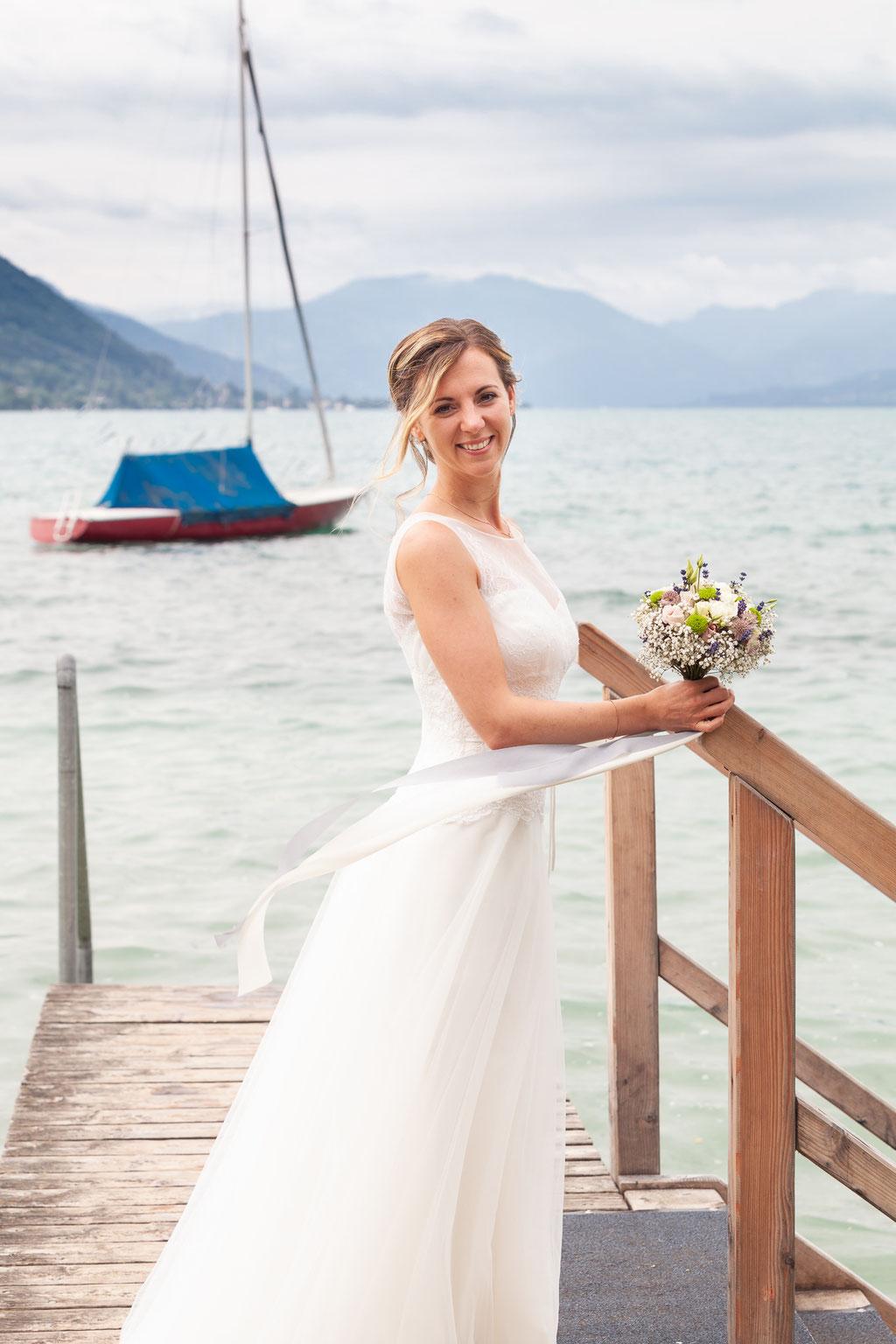 Hochzeitsfoto Seewalchen, Attersee, Oberösterreich