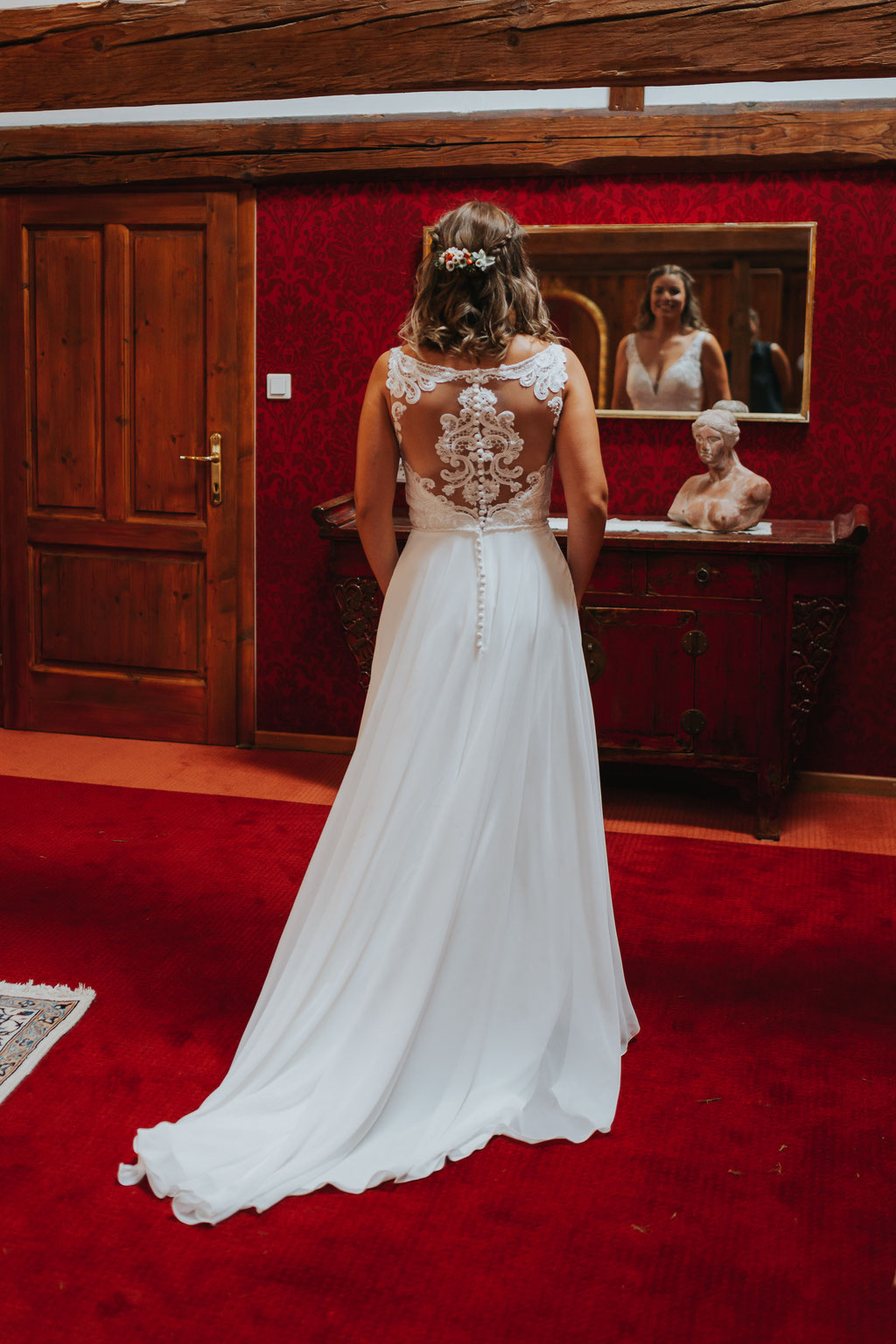 Getting Ready der Braut am Vedahof