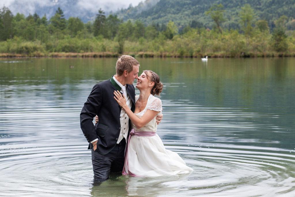 Hochzeitsfotograf Almsee, Grünau, Oberösterreich, Afterwedding