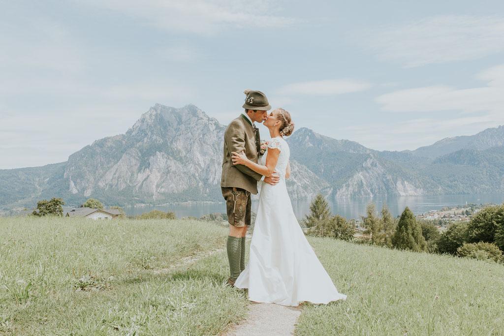 Hochzeitsfotograf Salzkammergut, Traunsee