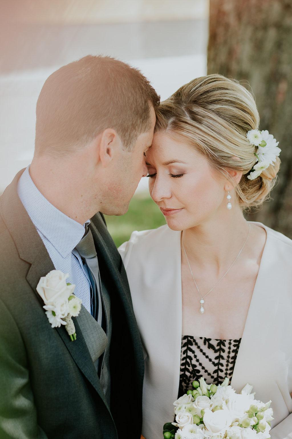 Brautpaar, Hochzeit in Atzbach, Oberösterreich