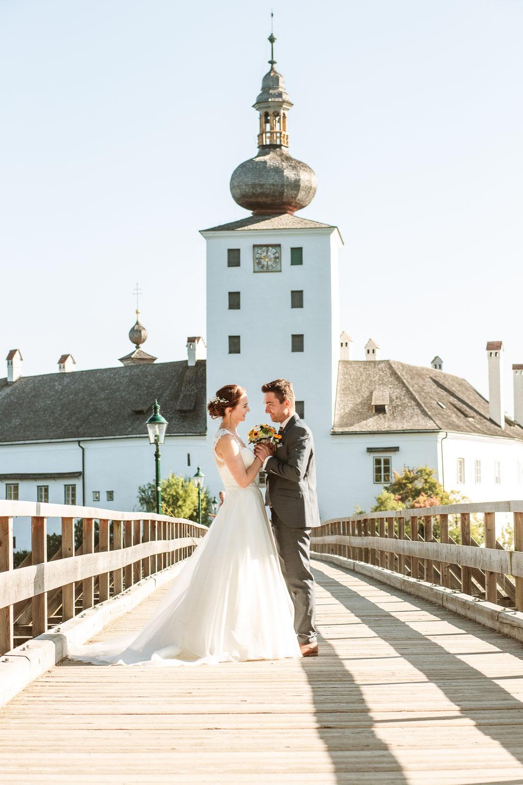 Hochzeit Schloss Ort Gmunden