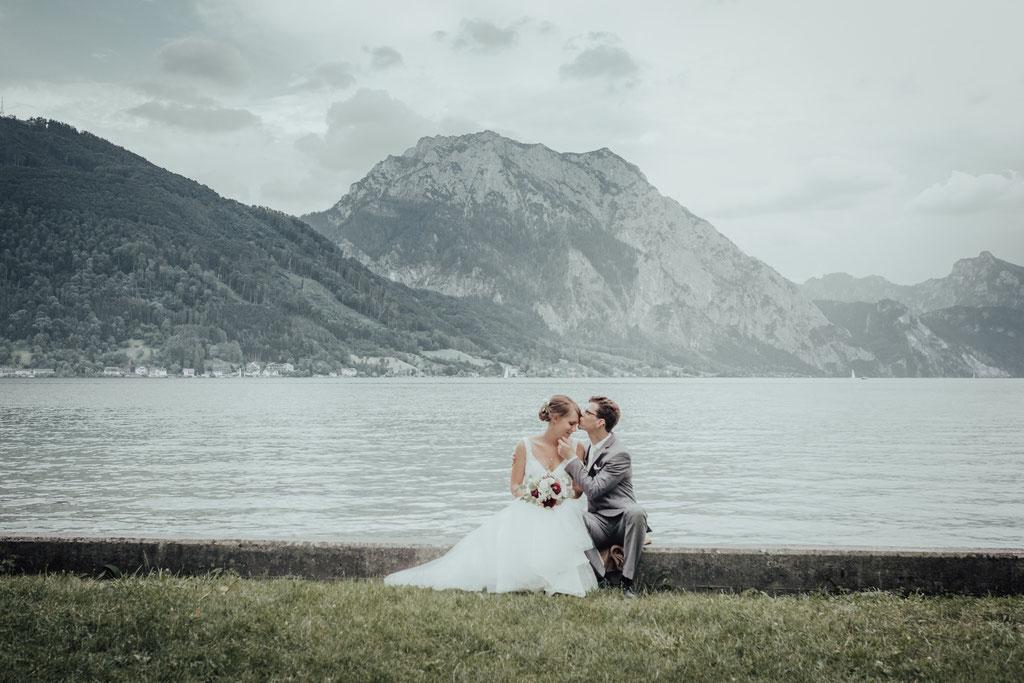 Hochzeitsfotograf Gmunden, Traunsee