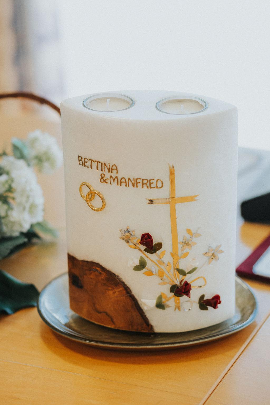 Hochzeitskerze (c) Mara Pilz Fotografie