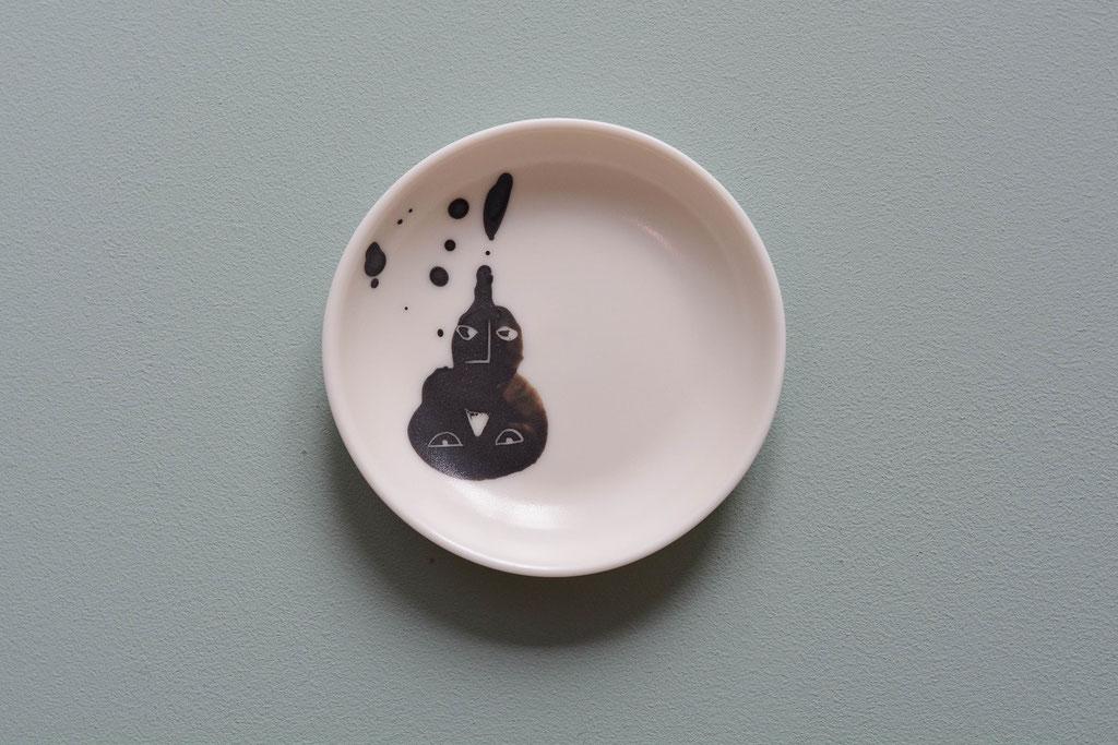 bauchig abheben, Poesie auf Keramik, 2018 (verkauft)