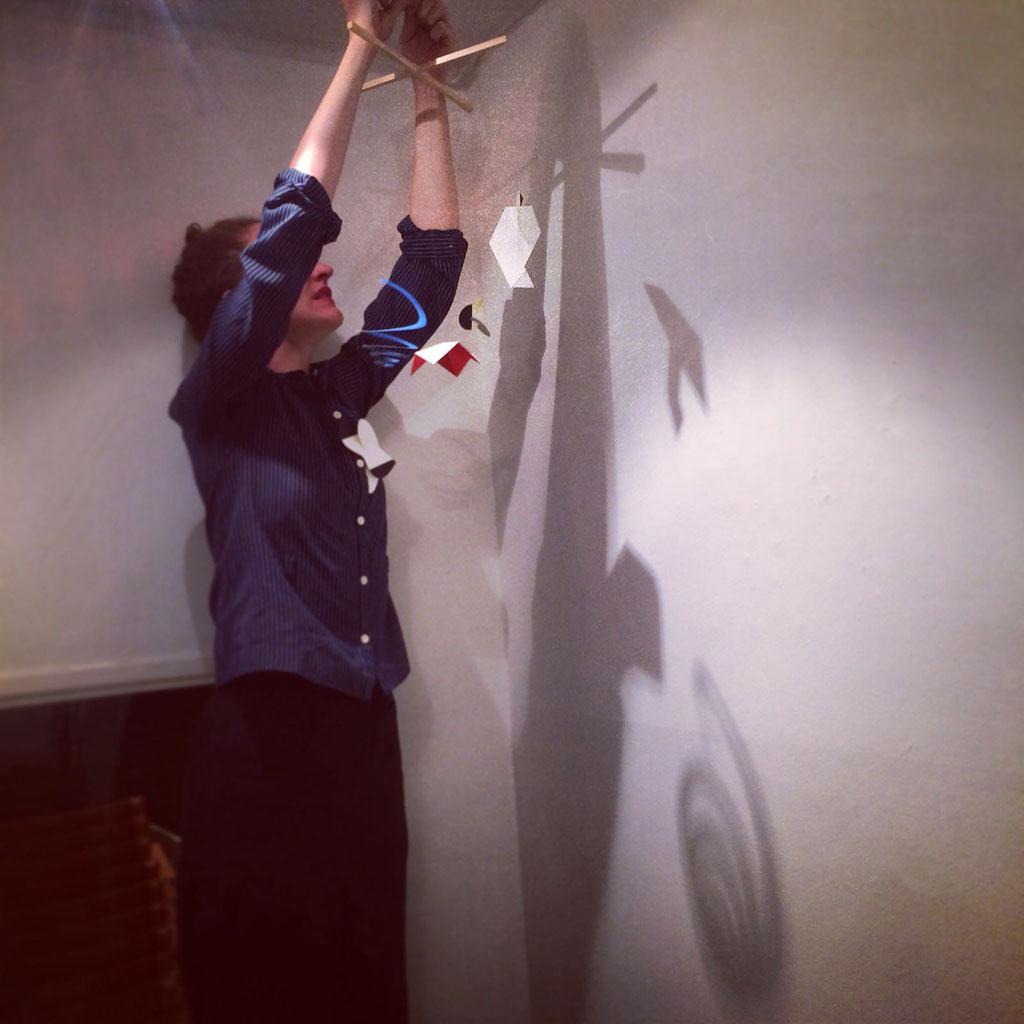 Les Amis de la Danse, Installation im arlecchino Luzern, 2016