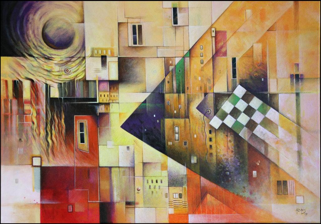 Sans-titre - 50x69,5 cm - (disponible)