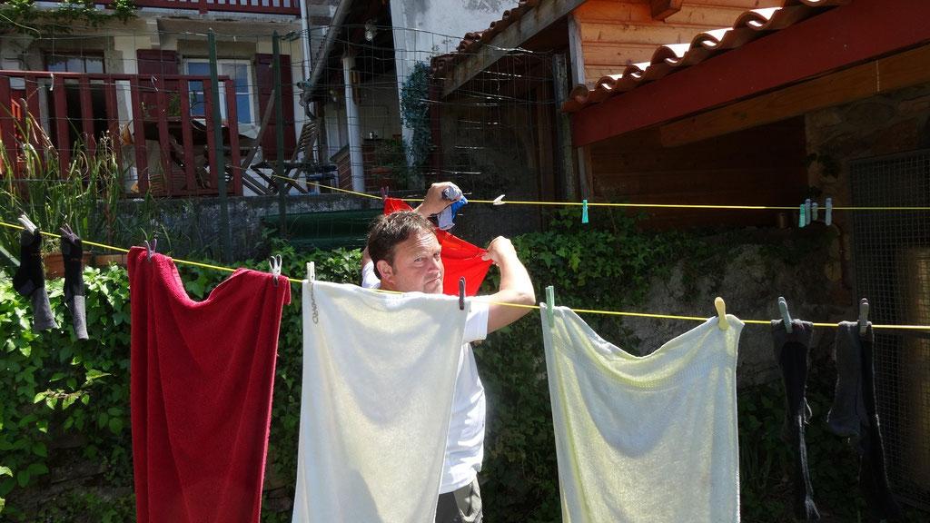 Dernière lessive française pour Thierry