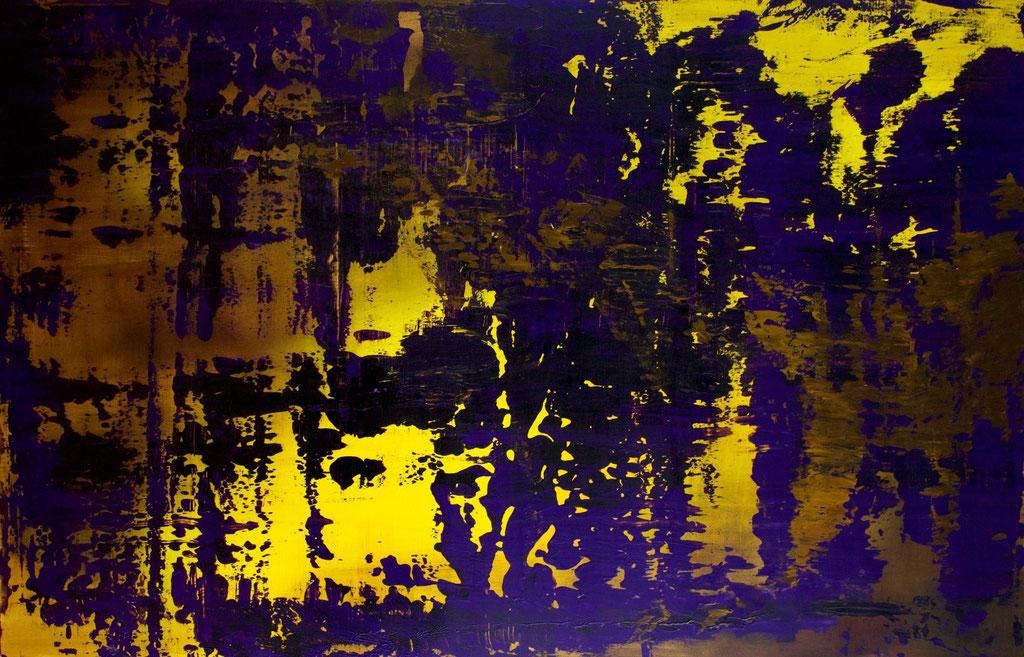 Christian Feig, o.T., 2012, Acryl auf Leinwand, 120 x 180 cm