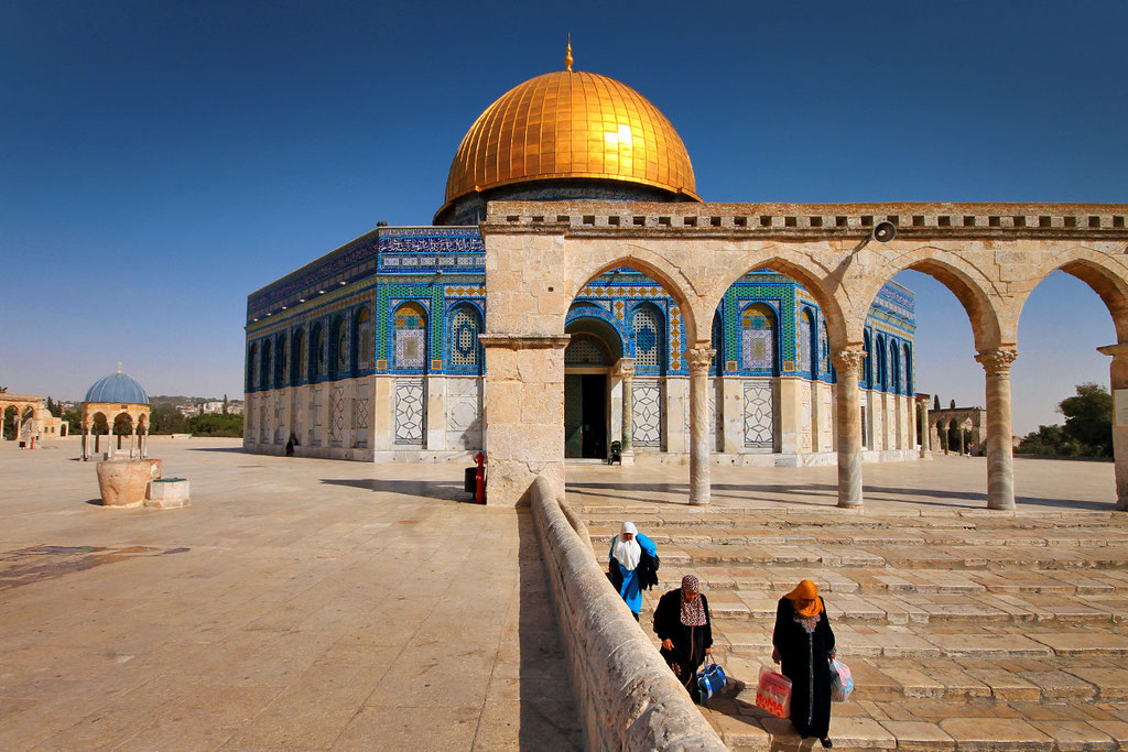 The Dome Of The Rock, Jerusalem, Israel © Sabrina Iovino | JustOneWayTicket.com