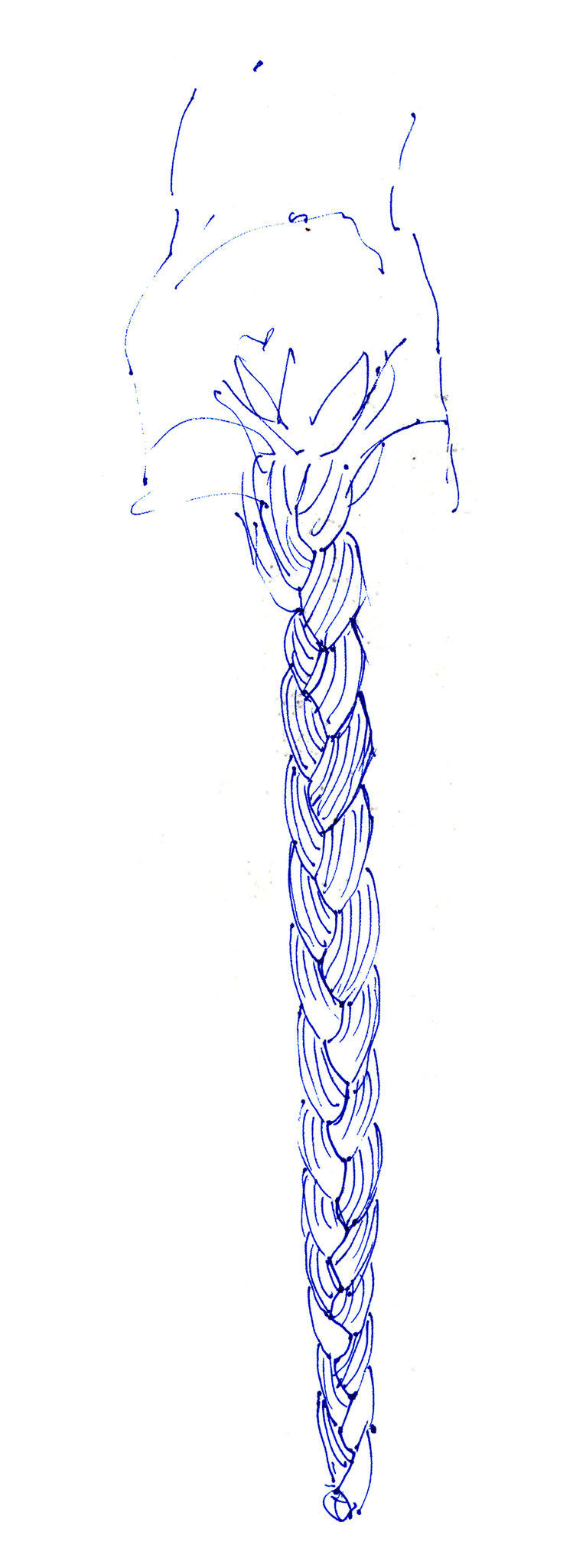 Skizze zu Rapunzel