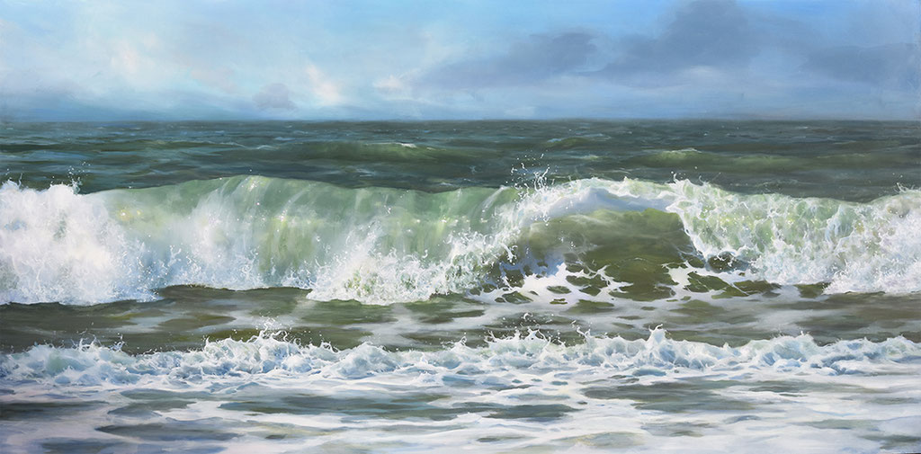 Oil on panel 60 x 120 cm - SOLD