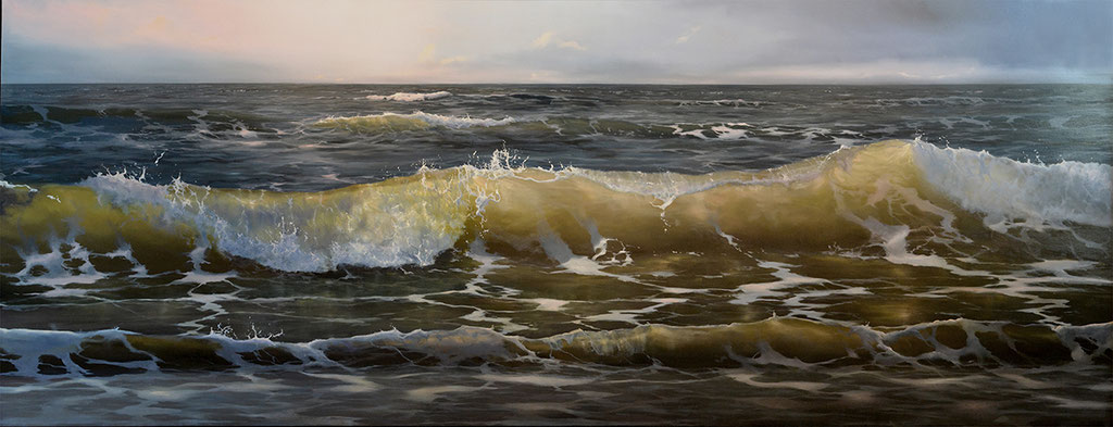 oil on panel 65 x 180 cm SOLD
