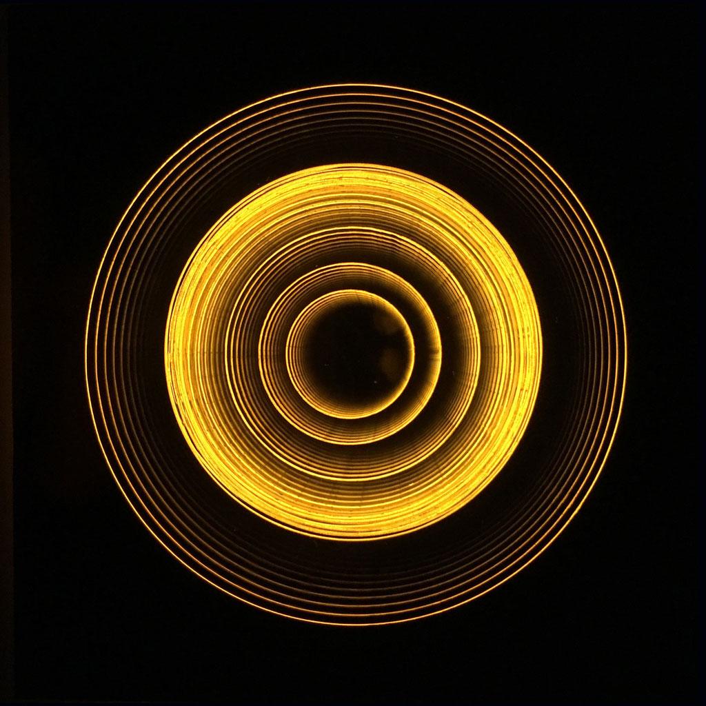 """HALOS I"", 14x14 cm, Sold"