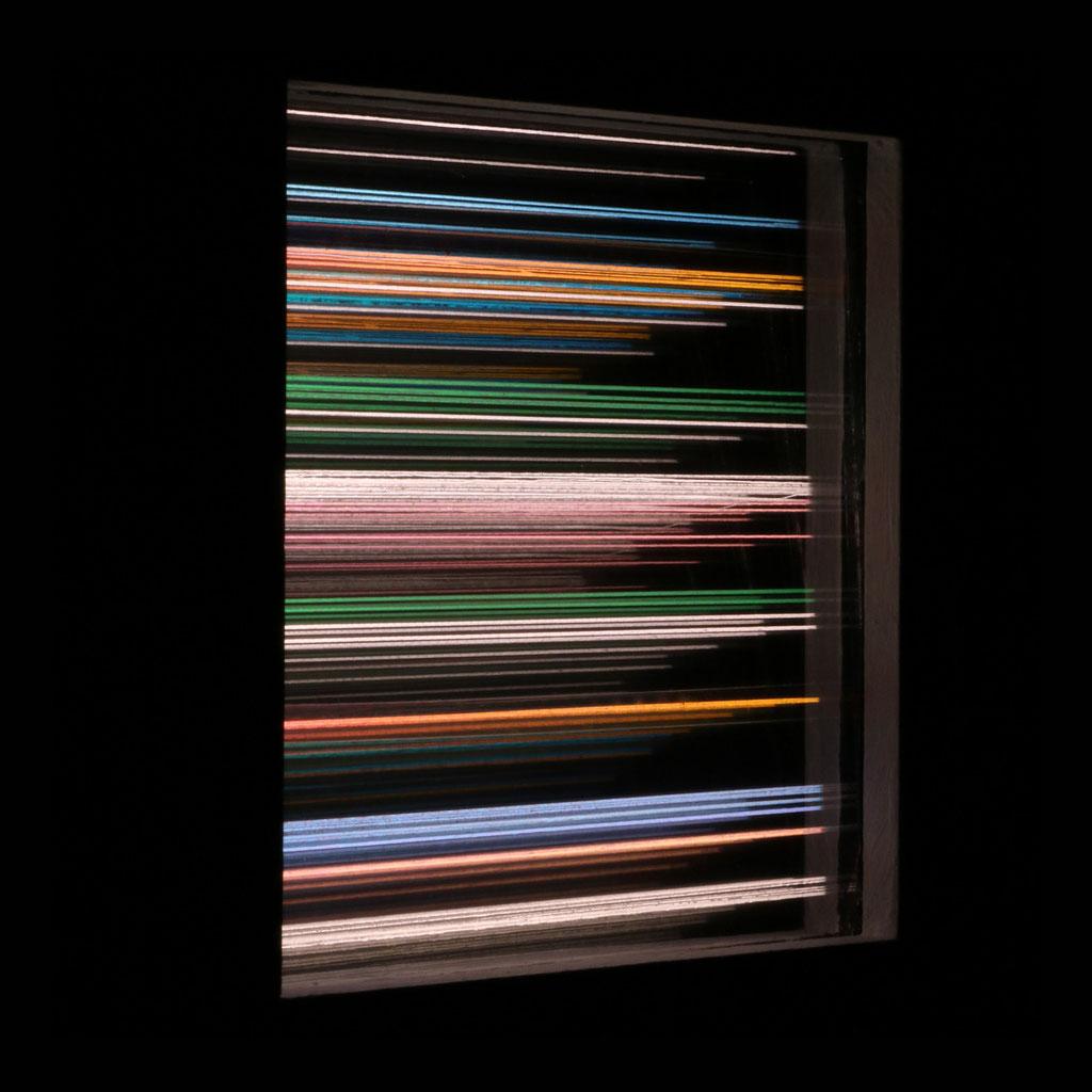 """LIGHT HORIZONS VII"", 14x14 cm"