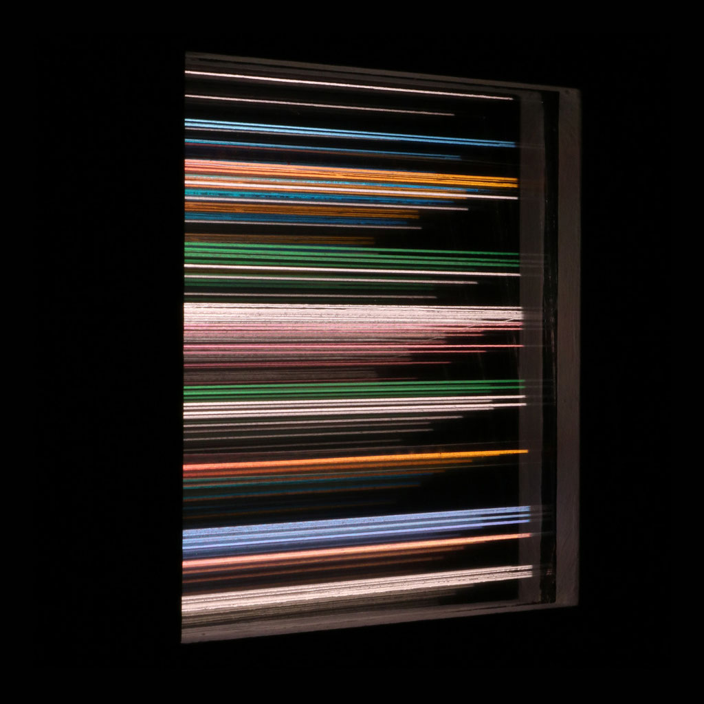 """LIGHT HORIZONS VII"", 14x14 cm, Sold"