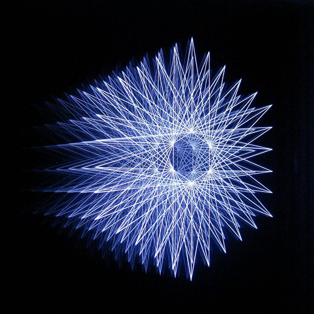"""""""HEXAGON I"""", 24x24 cm, RGB-Colour-LEDs"""