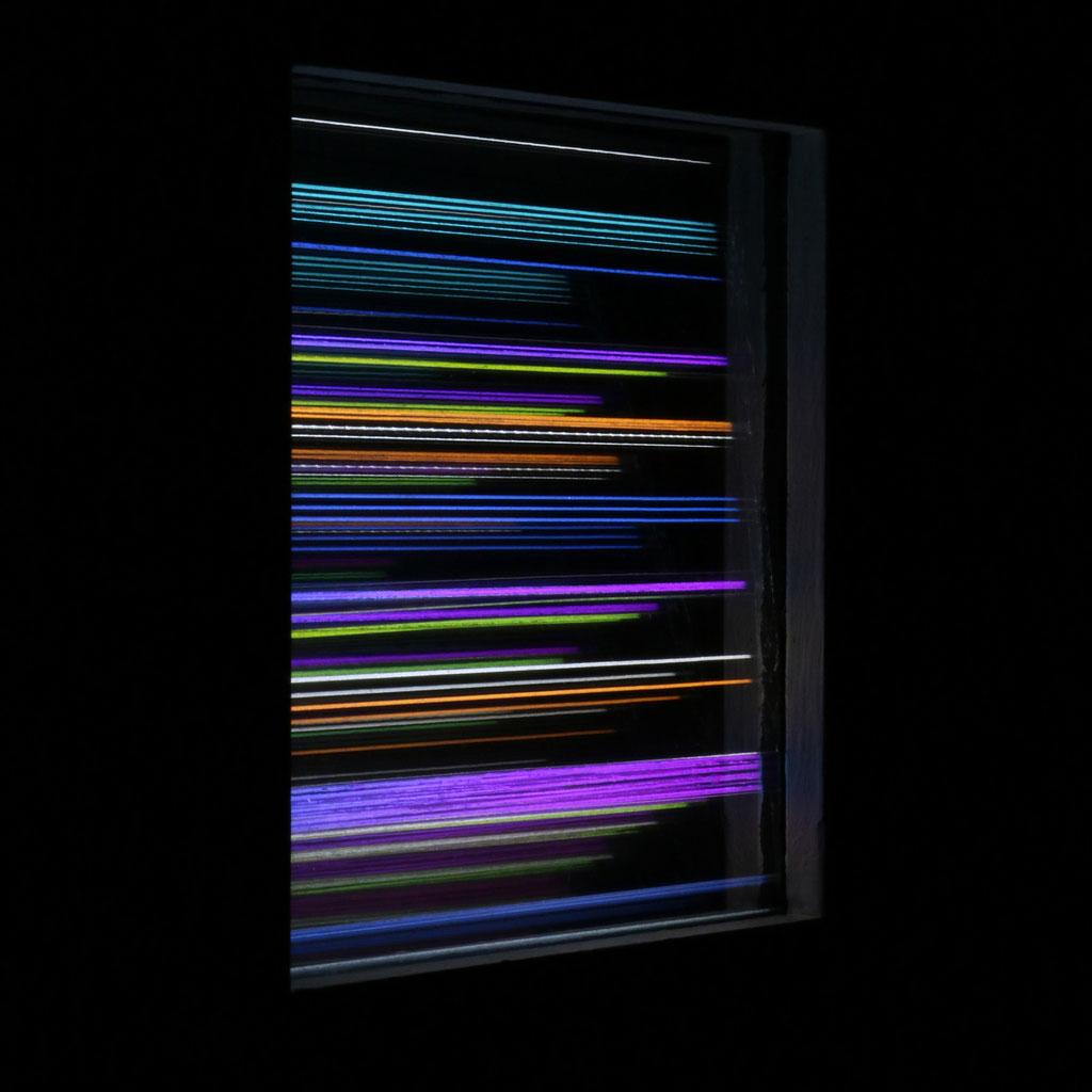 """LIGHT HORIZONS VI"", 14x14 cm, Sold"