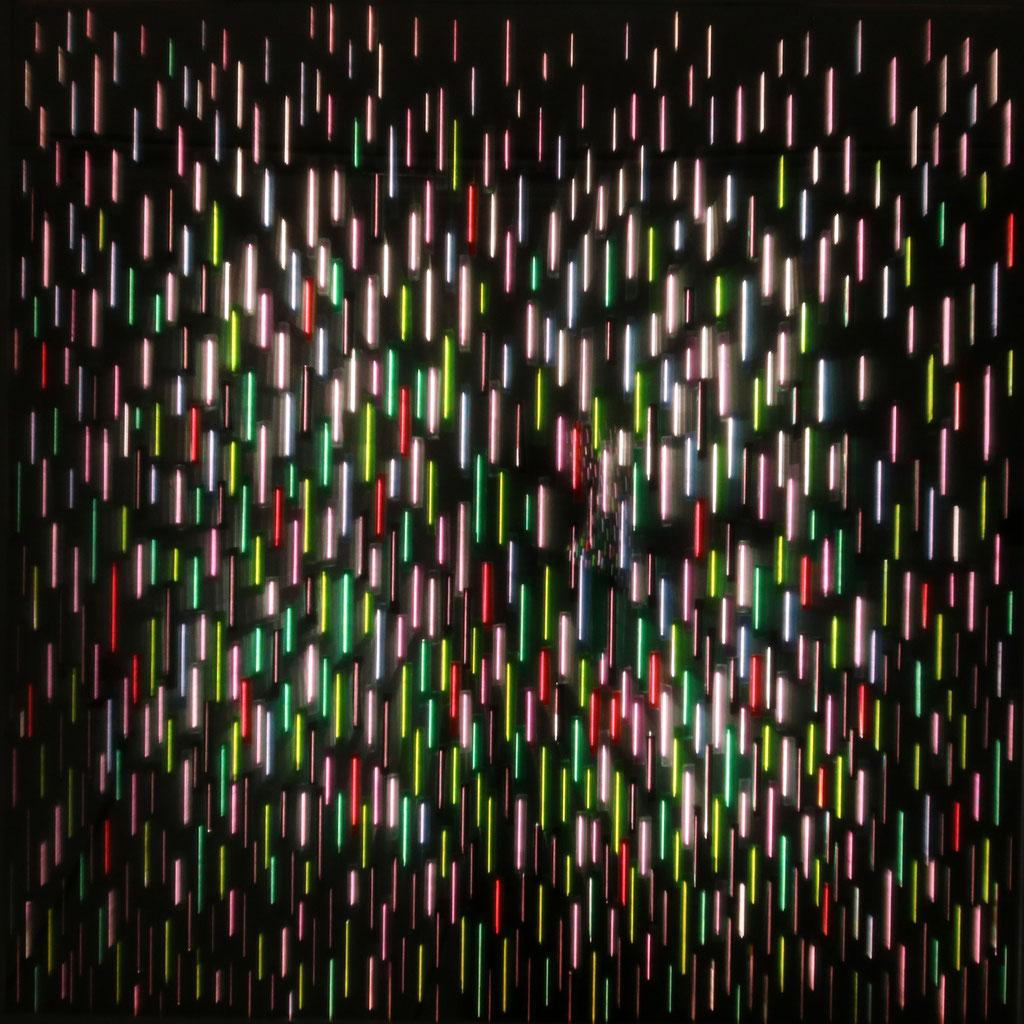 """LIGHT RAIN I"", 104x104 cm"