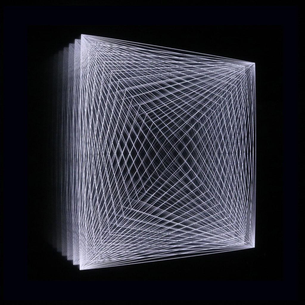 """PYRAMID IV"", 44x44 cm"