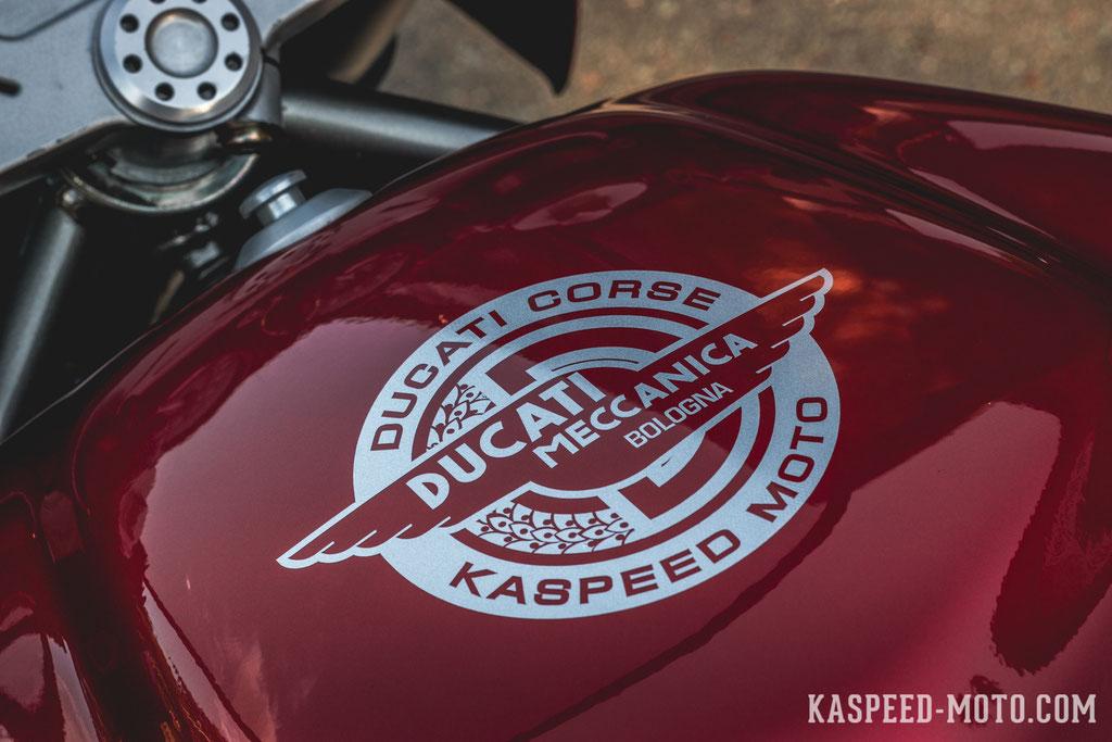 Ducati 750 Ss Modern Cafe Racer Build Story Kaspeed Custom