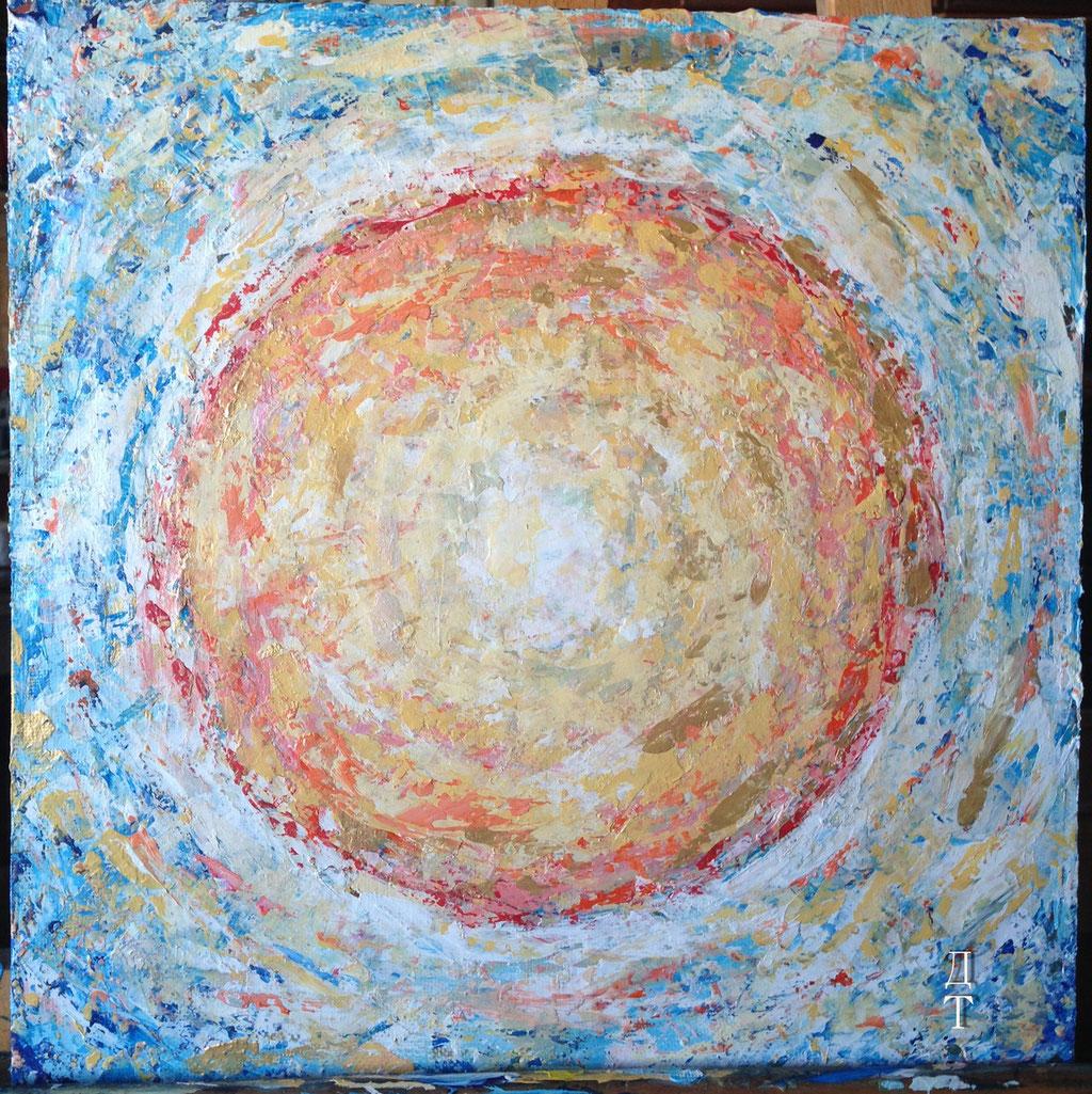 М-полость, зона обтекания материей области сверхвысокого давления в гравитационном узле сверхтонкого слоя сжатой плазмы