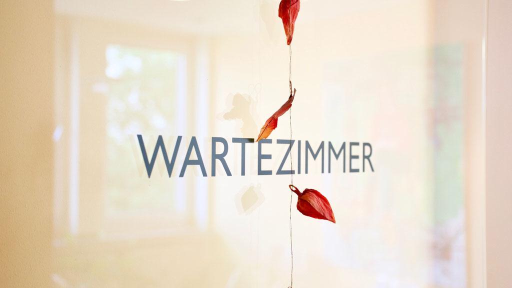 Wartezimmer Hausarztpraxis Dr. Kändler & Krüger Kassel