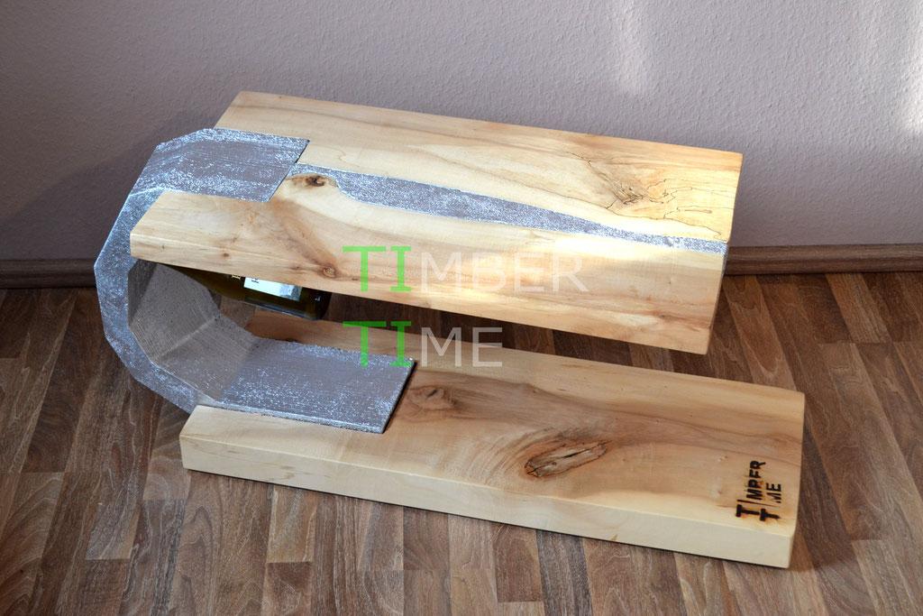 Holz Beton Tisch