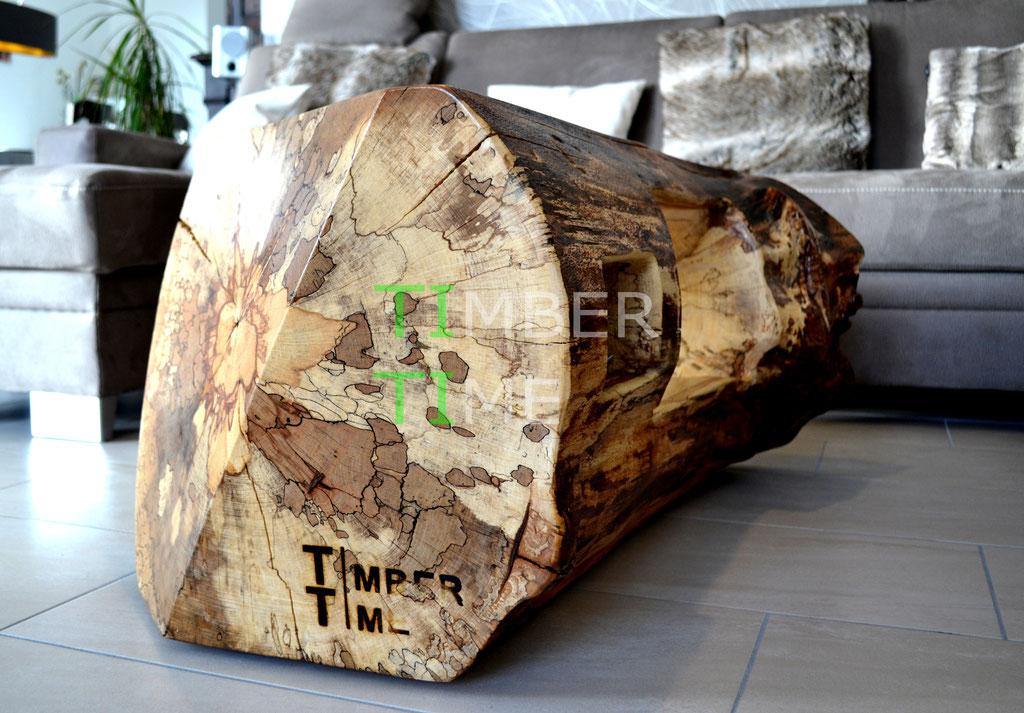 angestocktes Holz