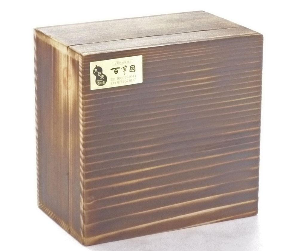 九谷焼酒井百華園 木箱