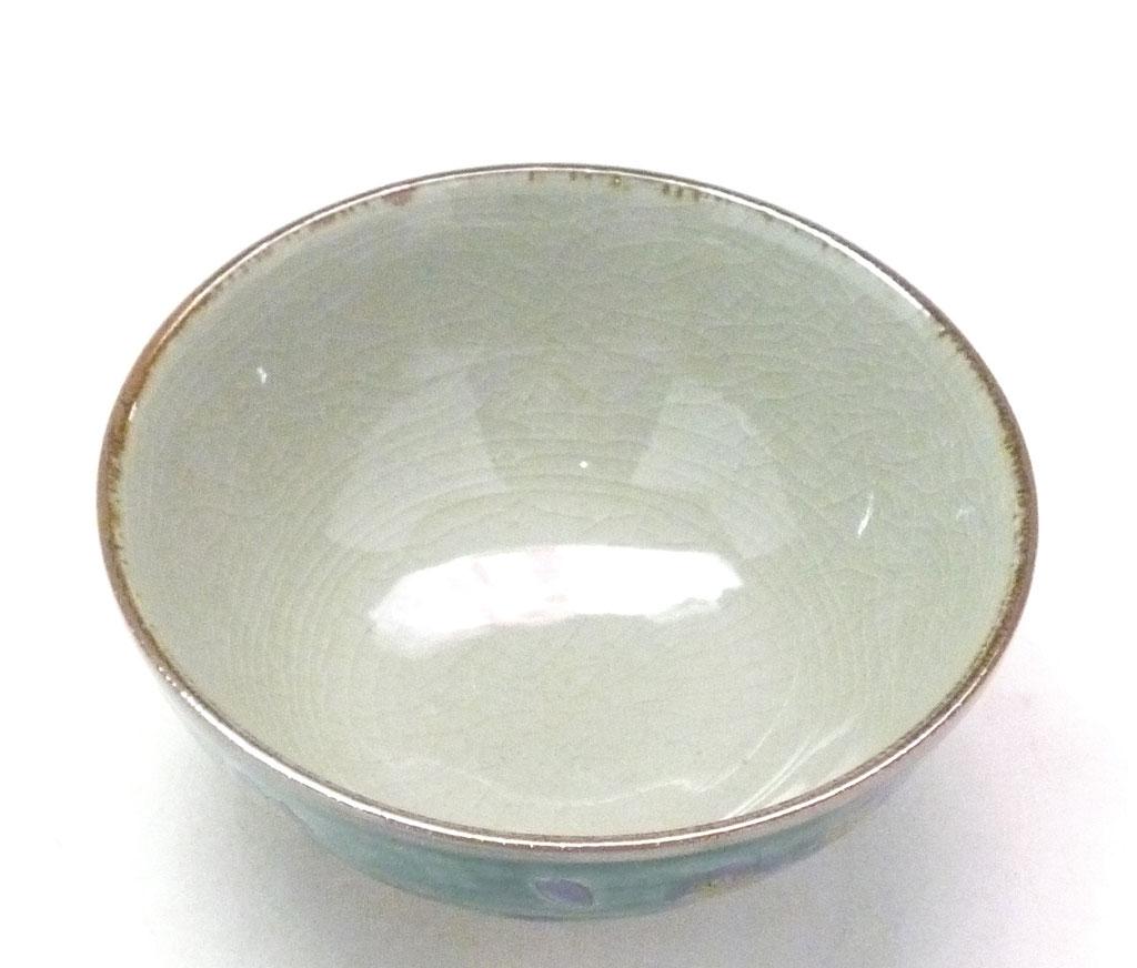 九谷焼通販 おしゃれな飯碗 ご飯茶碗  大 桜 裏絵