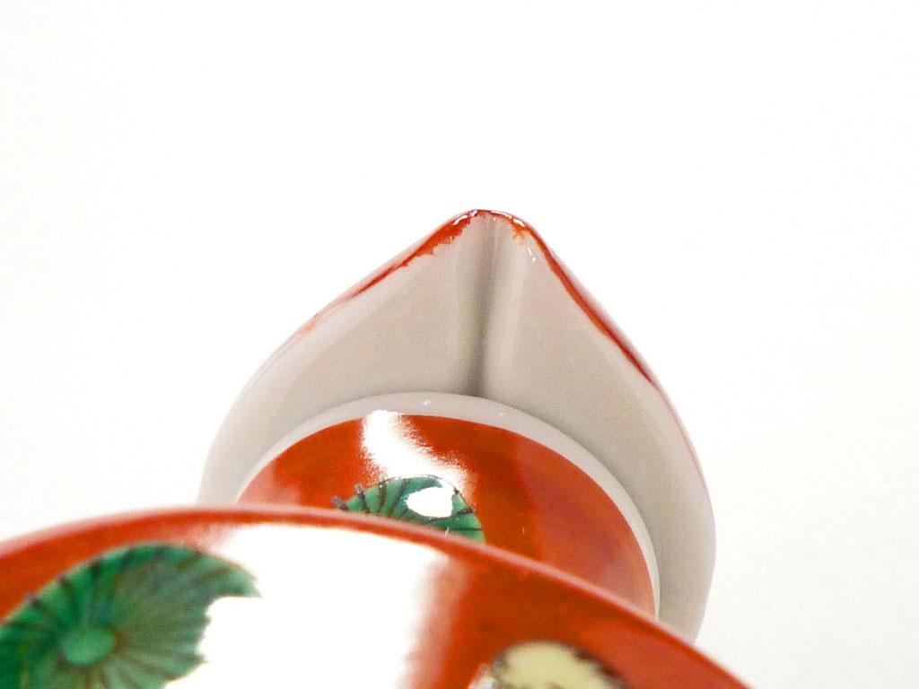 百華園-九谷焼醤油差し 木米写し