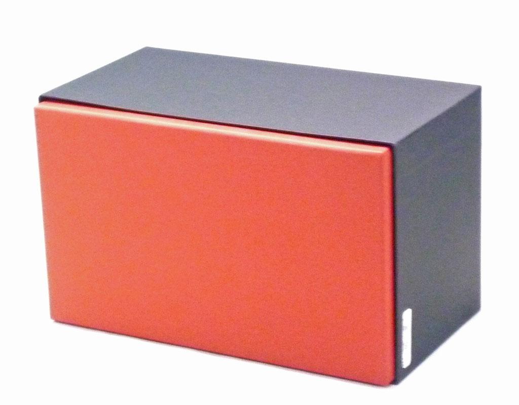 九谷焼酒井百華園 黒赤箱