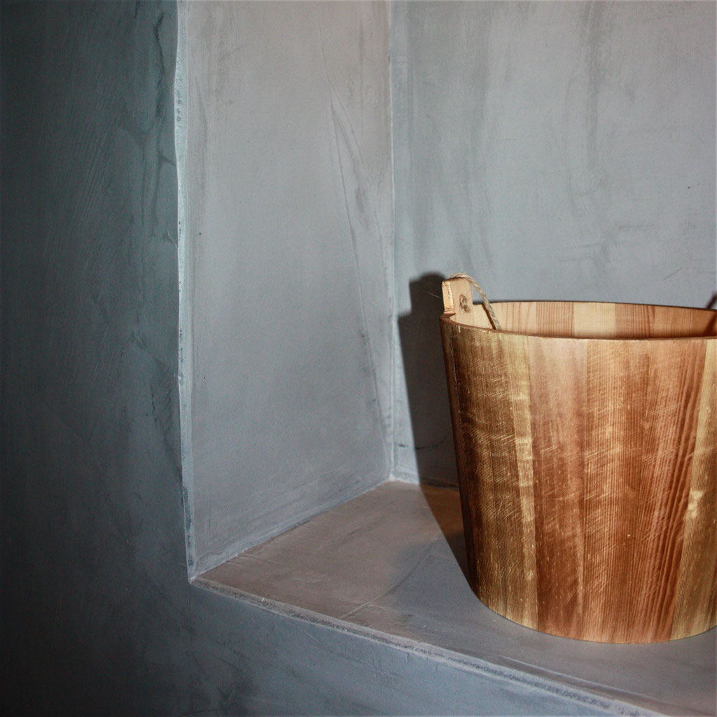 beton cire badkamer nis