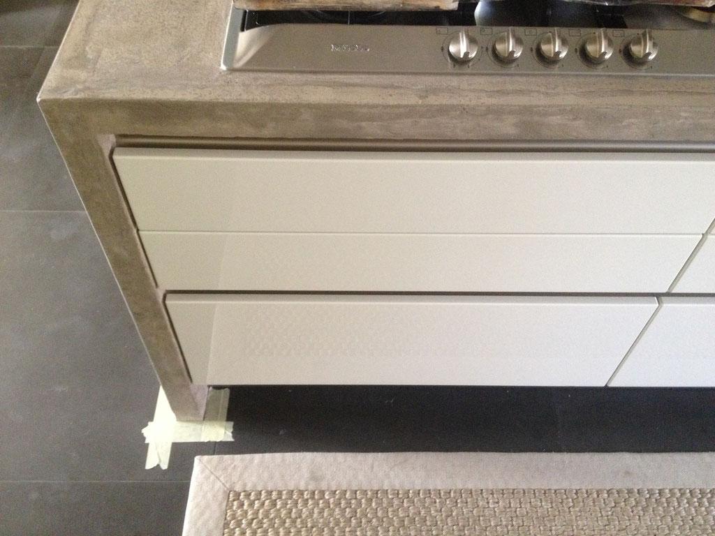 beton cire aanrecht keuken