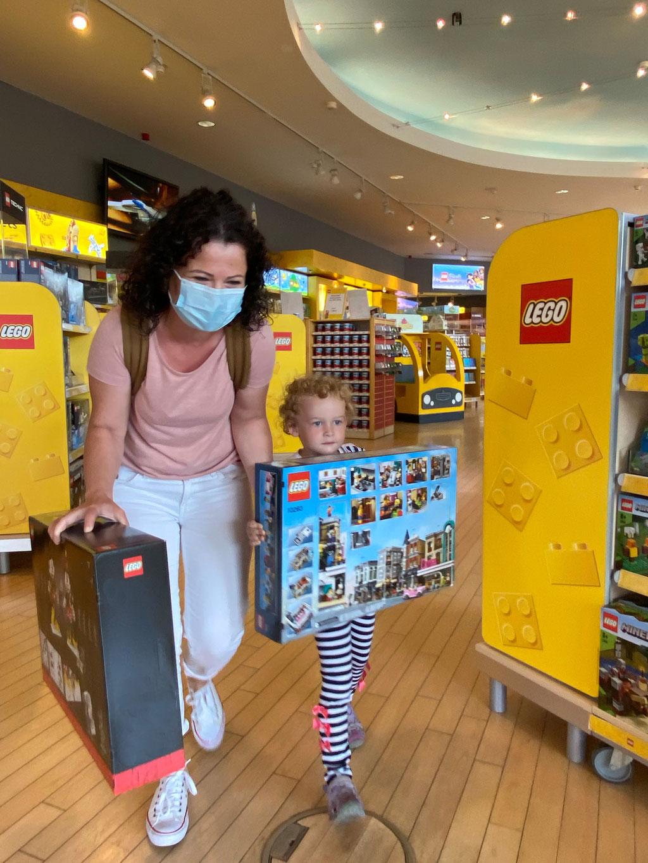 legoland shop run 2020 25 millonster gast