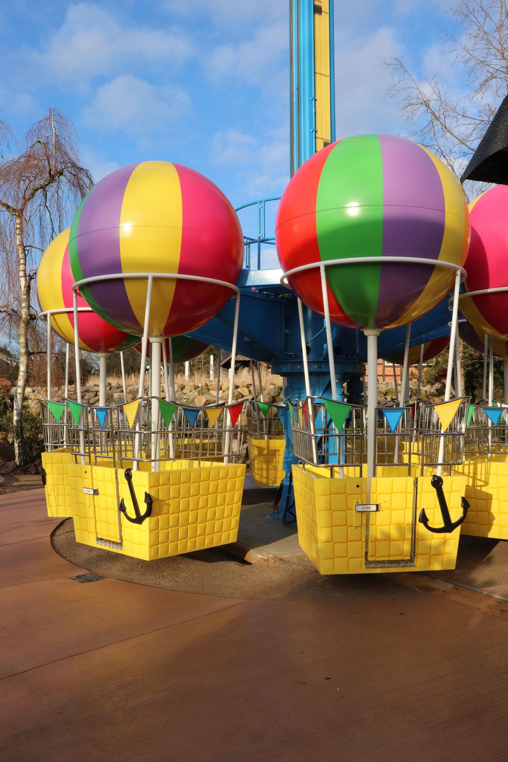 peppas ballonfahrt heide park
